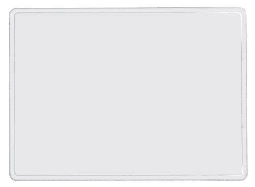 Veloflex 4685000 Schreibtischunterlage Velodesk - Clear, 50 x 65 cm, transparent, glänzend, abwischbar