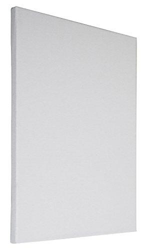 Arte & Arte 7147.0 Telaio con Tela per Pittori da dipingere, Legno di Abete/Cotone, Bianco, 100 x 80 x 1.7 cm, Made in Italy