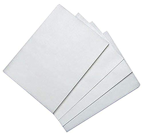 Edible Rice and Wafer Paper, 8 by 11-Inch/ Wafer Paper (100, White)