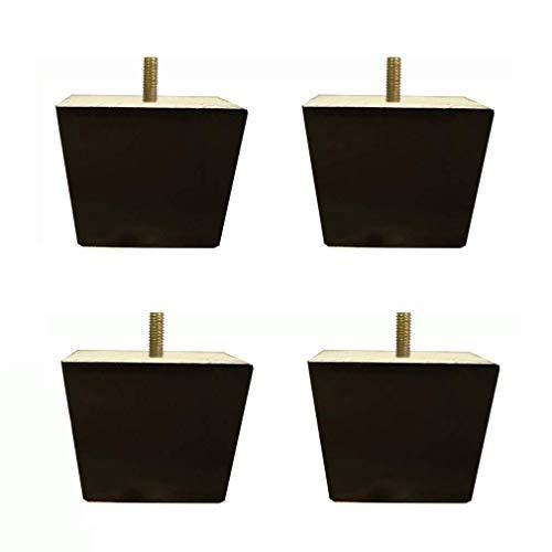 Möbel Tisch Beine Sofa Beine Bett Riser von 4 Natürliche Set Massivholz Sofa Füße, Eiche Möbelfüße, Platz Kabinett Füße, Couchtisch Beine, Bettfüße, M8 Gewindestangen, for Küchen Sessel, Sofa-Betten (