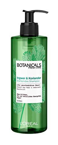 Botanicals Stärkendes Shampoo, ohne Silikon für feines geschwächtes Haar, mit Ingwer und Koriander, stärkt das Haar und reduziert Haarbruch, 1er Pack (1 x 400 ml)