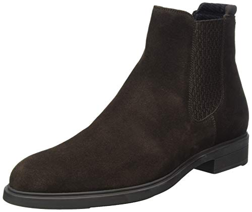 BOSS Herren Firstclass_Cheb_sd Chelsea-Stiefel, Dark Brown202, 40 EU