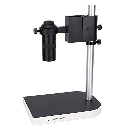 Mikroskop Ständer, UP Down Einstellbarer Stützmikroskop Tischständer aus Aluminiumlegierung für Digitale C-Mount Aufnahme in der Industrie