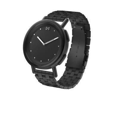 MISFIT Pfad Schwarz Edelstahl Hybrid Damenuhr Smartwatch MIS5030