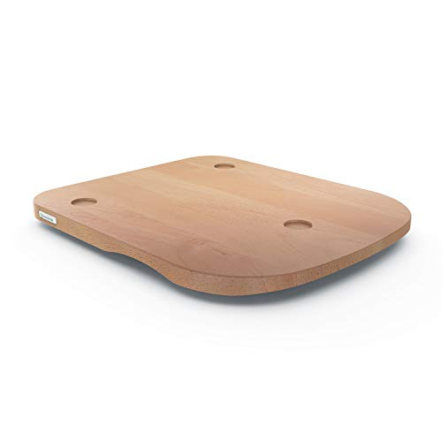 ThermoSlider® H V2 Plus | Gleitbrett aus Holz Buche für Thermomix TM6 & TM5 | Massivholz aus nachhaltiger deutscher Forstwirtschaft | Made in Germany