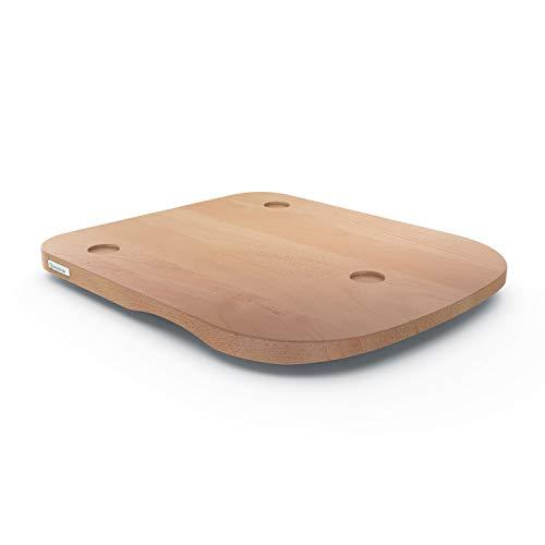 ThermoSlider H V2 Plus - Gleitbrett aus Holz Buche für Thermomix TM6 & TM5 - Massivholz aus nachhaltiger deutscher Forstwirtschaft
