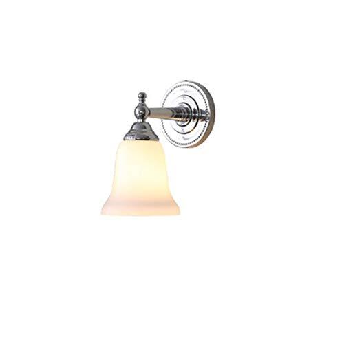Hai Ying/Amerikaans, Amerikaans zilver licht en eenvoudig en modern toilet spiegel licht E27 (grootte: 15 x 25,5 cm)