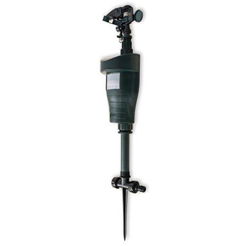 vidaXL Wasserstrahl Tiervertreiber + PIR-Sensor Hund Katzenabwehr Reiherschreck