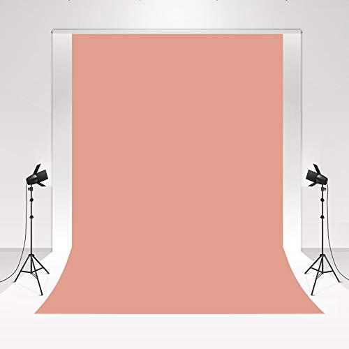 Kate Sfondo fotografico Solid Salmon Pink Photo Background per neonato fotografia di studio fotografico 1,5x2,2m