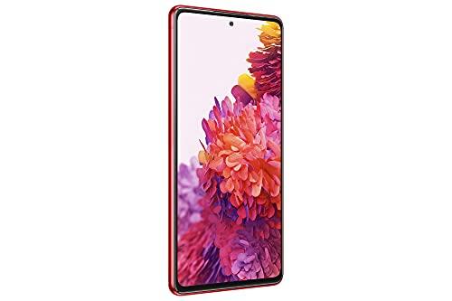 Samsung Galaxy S20 FE 5G, Android Smartphone ohne Vertrag, 6,5 Zoll Super AMOLED Display, 4.500 mAh Akku, 128 GB/ 6 GB RAM, Handy in Rot inkl. 36 Monate Herstellergarantie [Exklusiv bei Amazon] - 3