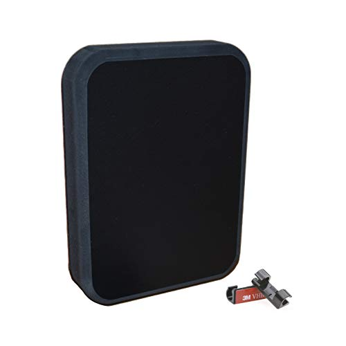 SEAWORTHY INNOVATIONS Stern Pad Jumbo Black - Screwless Transducer/Acc. Mounting Kit (for Large 3D Scan Transducers)