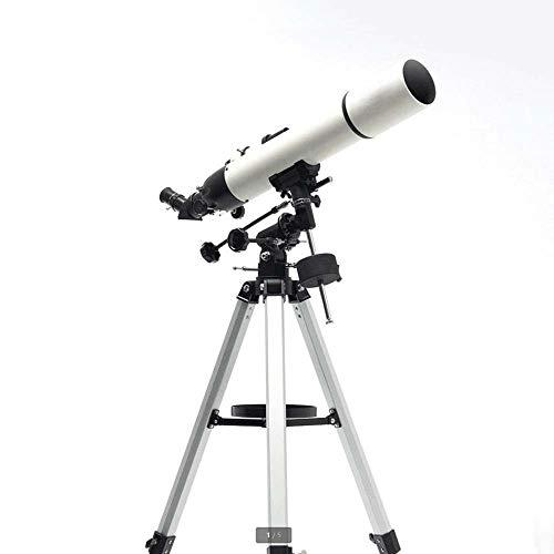 YIJIAHUI Telescopio Astronómico Telescopio astronómico HD refractiva Alcance de la localización de la Luna de Júpiter Alcance for Niños Niños Adolescentes Adultos para Niños Niños Adolescentes