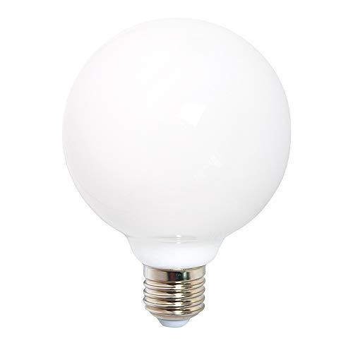 LED Filament Leuchtmittel 360° opal matt warmweiß 2700K - Globe G80 E27 6W = 60W