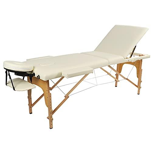 Estink Lit de Spa, Pas Besoin d'installation Table de Massage avec 2 accoudoirs pour Accessoire de...