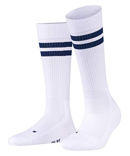 FALKE Unisex Socken Dynamic - 81% Baumwolle, 1 Paar, Weiß (White 2000), Größe: 37-38