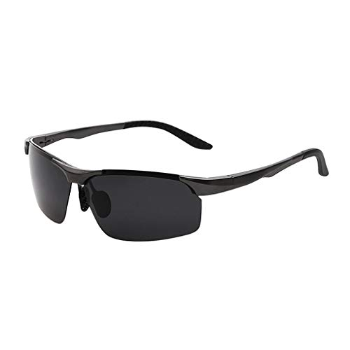 XIEO Driving Aviator Polarized Sunglasse for Men Al-Mg Metal Frame With UV 400 Lens Protection Sunglasses Best for Hiking Fishing Driving Outdoor
