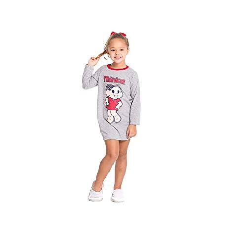 Pijama Camisola Infantil Turma Da Monica