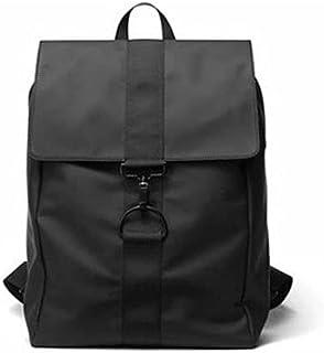 Fmdagoummzibeib Backpack, Worthy ForFor Work School 15.6 Laptop(black ), Raincoat Fooling Backpack, Men Business Backpack