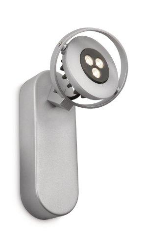 Philips Ledino LED-Wandspot Teqno 1-flammig dimmbar 6 W, aluminium lackiert 564204816