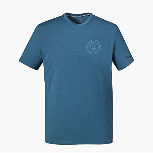 Schöffel Nuria1 T-Shirt Homme, Bering Sea, FR : XL (Taille Fabricant : 54)