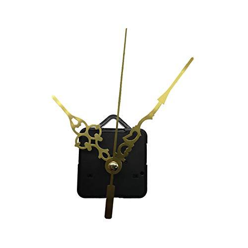 Ousyaah Mecanismo Maquinaria de Reloj, Péndulo Reloj de Cuarzo Movimiento de Reloj Movimiento de DIY Reemplazo de Piezas de Reloj Mecanismo (Dorado)