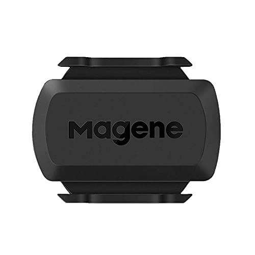 Magene S3+ Sensore di velocità/Cadenza per Ciclismo, Sensore RPM per Bicicletta Wireless Ant+/Bluetooth 4.0