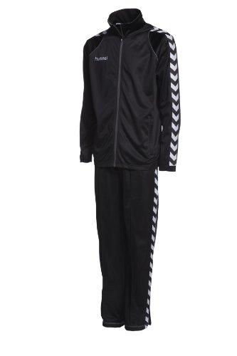 Hummel Kinder Anzug BEE AUTHENTIC POLY, black/black, 128 ( 8 )