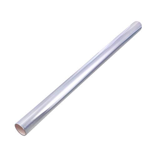 HEALLILY 10mx80cm Roll de Papel de Celofán Transparente Papel Celofán para Envolver de Ramo de Florista