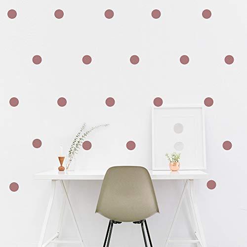 """potente para casa Adhesivo de pared metálico dorado rosa (adhesivo de 2.0 """"x 200) Adhesivo desmontable …"""