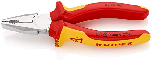 KNIPEX Alicate universal aislado 1000V (160 mm) 03 06 160
