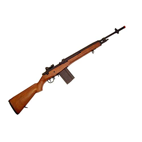 CYMA Softair Fucile Softair Full Metal Elettrico M14 Wood 0.9 Joule (CM032W)