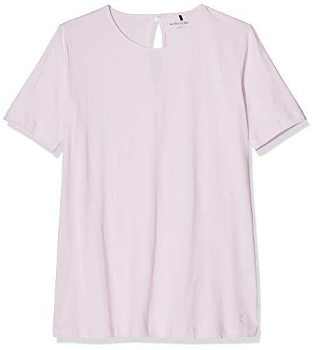 Seidensticker Damen Anzug kurz Zweiteiliger Schlafanzug, Rot (Rosé 506), 42