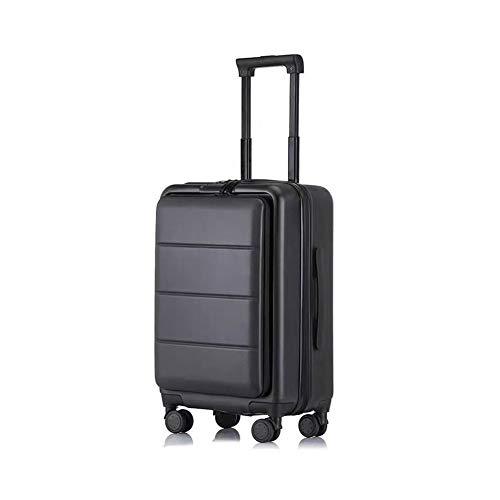 Maleta con ruedas, maletín de embarque giratorio, viaje, de gran capacidad, peso...
