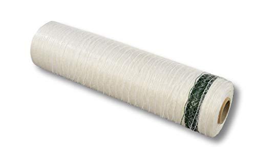 Wickelnetz 500 mm x 1400 m uv beständig - Holzwickelnetz und Mini Rundballennetz reißfest und stabil