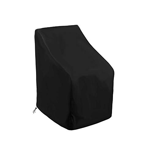 NZYH Cubierta De Silla Impermeable Y a Prueba De Rayos UV para Jardín Al Aire Libre para Mesa Cubo Silla Sofá Terraza Versión Mejorada 420D Oxford Cloth B