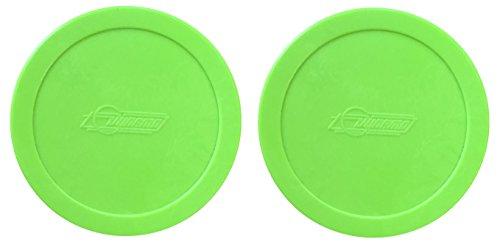 2 Dynamo Brand 3.25' Lg Green Hockey Air Pucks