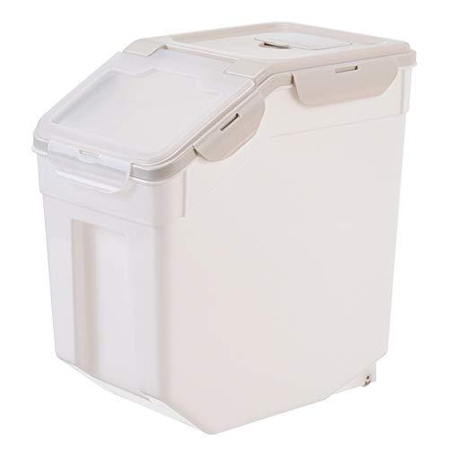 Aufbewahrungsbehälter für Hundefutter, versiegelte Aufbewahrungsboxen, feuchtigkeitssichere Aufbewahrungsboxen, Aufbewahrungstanks zur Aufbewahrung von Snacks, Trockenfutter, Spielzeug usw.-Lightkha