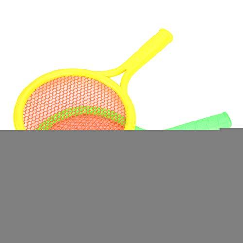 Juego de Raqueta de bádminton, Juego de Raqueta de Tenis Ligero, Interesante Favorable al Medio Ambiente para niños