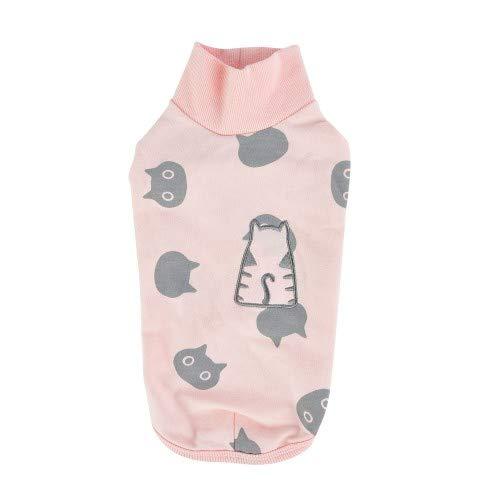 CATSPIA Boo Rosa M - Camiseta para Gato
