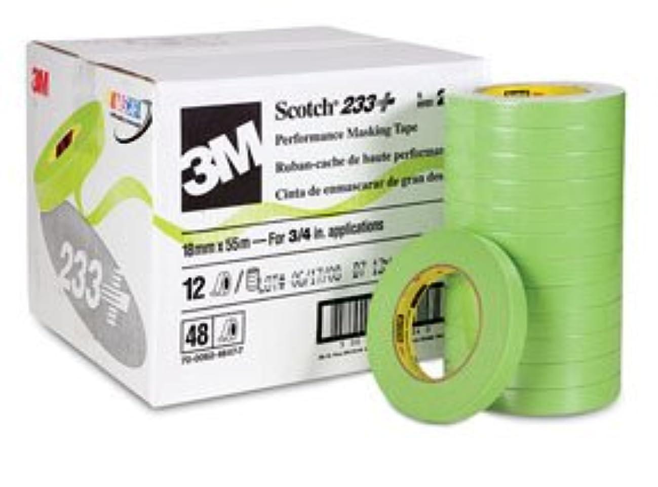 3M 26334 Crl 3M 3/4 Inch Automotive Performance Paint Masking Tape, Green
