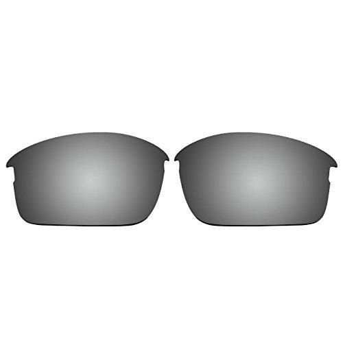 """ACOMPATIBLE Ersatz-Brillengläser für die """"Bottle Rocket""""-Sonnenbrille von Oakley, OO9164, Titanium Mirror - Polarized, S"""