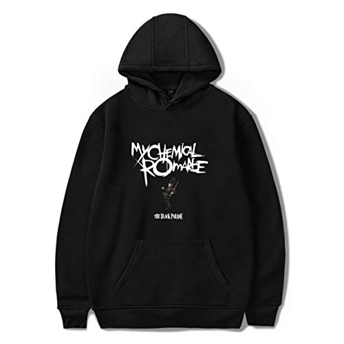 VEVEBAY My Chemical Romance Unisex a Maniche Lunghe con Cappuccio Pullover Harajuku (1,XL)