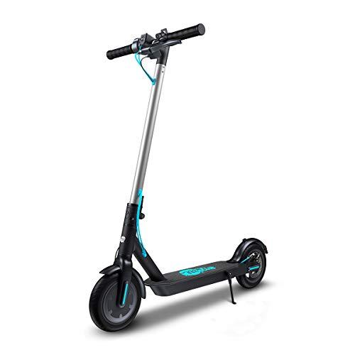 "Motus 8.5 Scooter eléctrico; 350W; 25 km/h; Alcance de 25 km; LCD; Solo 12,5 kg; Control de Crucero; Freno de Disco; LED; Neumáticos de 8.5""; Plegable; Patinetes Adultos y Adolescentes; 100 kg"