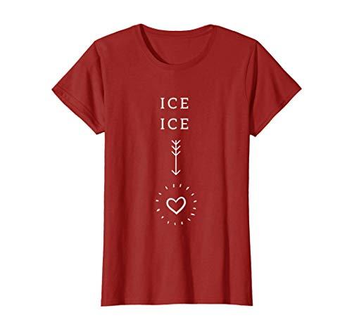 Damen ICE ICE schwanger! Spruch für werdende Mütter | Geschenk T-Shirt