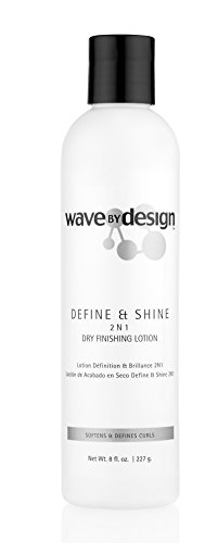 Design Essentials 2-N-1 Dry Finishing Lotion to Restore, Define & Revitalize Waves, Curls, and...