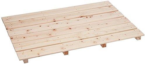 池川木材 すのこ 桧 大 6枚4本足 85×56×3.7cm