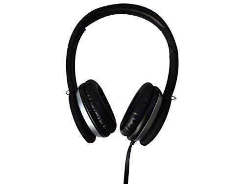 Maxell 303722 MXH-HP201 Super Style Kopfhörer integriertes Mikrofon schwarz