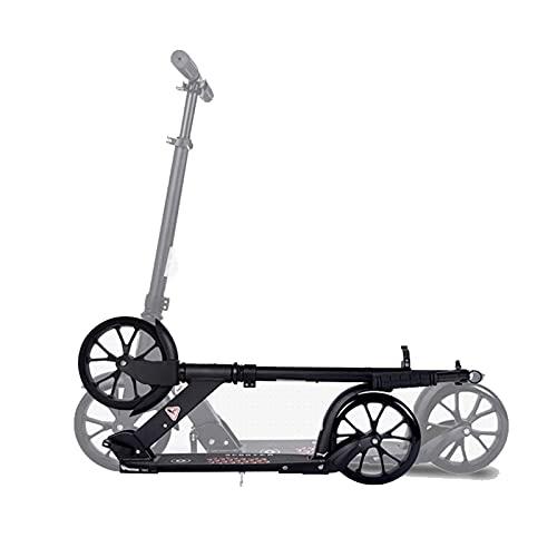 Hou Hexin Trade Stunt Scooter Adolescente Truco Scooter Robusto y Divertido Scooter 360 ° Movimiento de dirección con rodamientos de Bolas ABEC-9 y Ruedas de Aluminio de 100 mm (Color : Negro)
