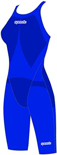 Speedo Fastskin LZR Racer Element - Costume da Nuoto da Donna, Bellissimo Blu, 24