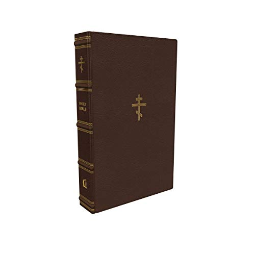 Compare Textbook Prices for The Orthodox Study Bible, Leathersoft, Brown: Ancient Christianity Speaks to Today's World  ISBN 9780785241874 by Thomas Nelson